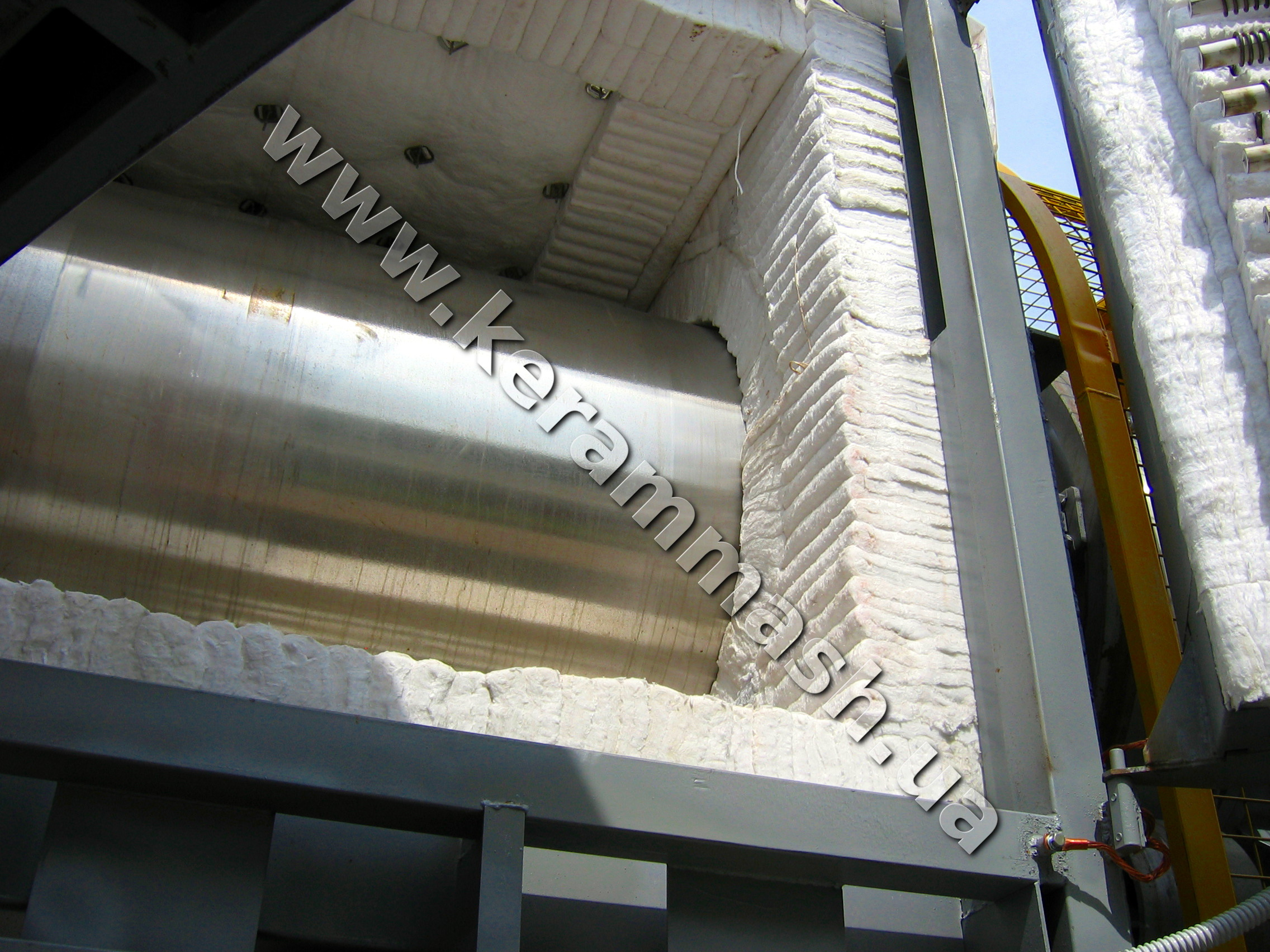 Industrial Electric drum-type furnace for drying and calcination
