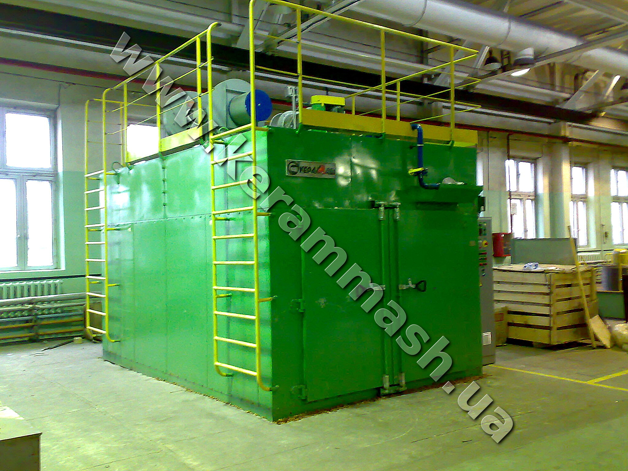 Industrial drying furnace